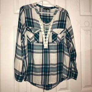 NWOT Women's L EXPRESS blouse
